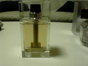 ディオールオムの新しい香水 Dior Homme